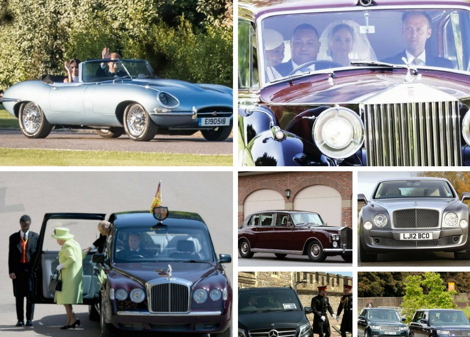 Auto protagoniste al Royal Wedding